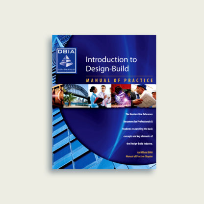 Manual of Practice - Introduction to Design-Build