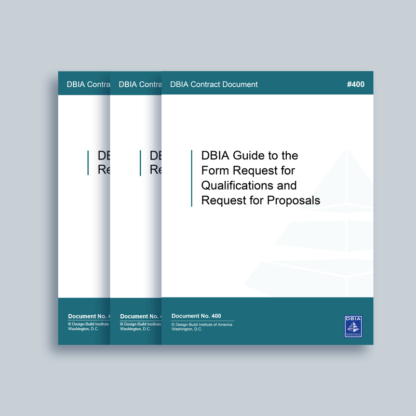 DBIA RFQ RFP and Supporting Documents Set