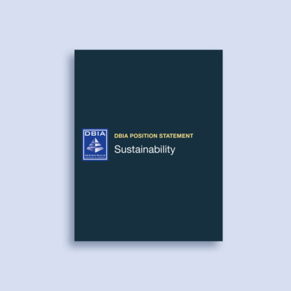 DBIA Position Statement - Sustainability